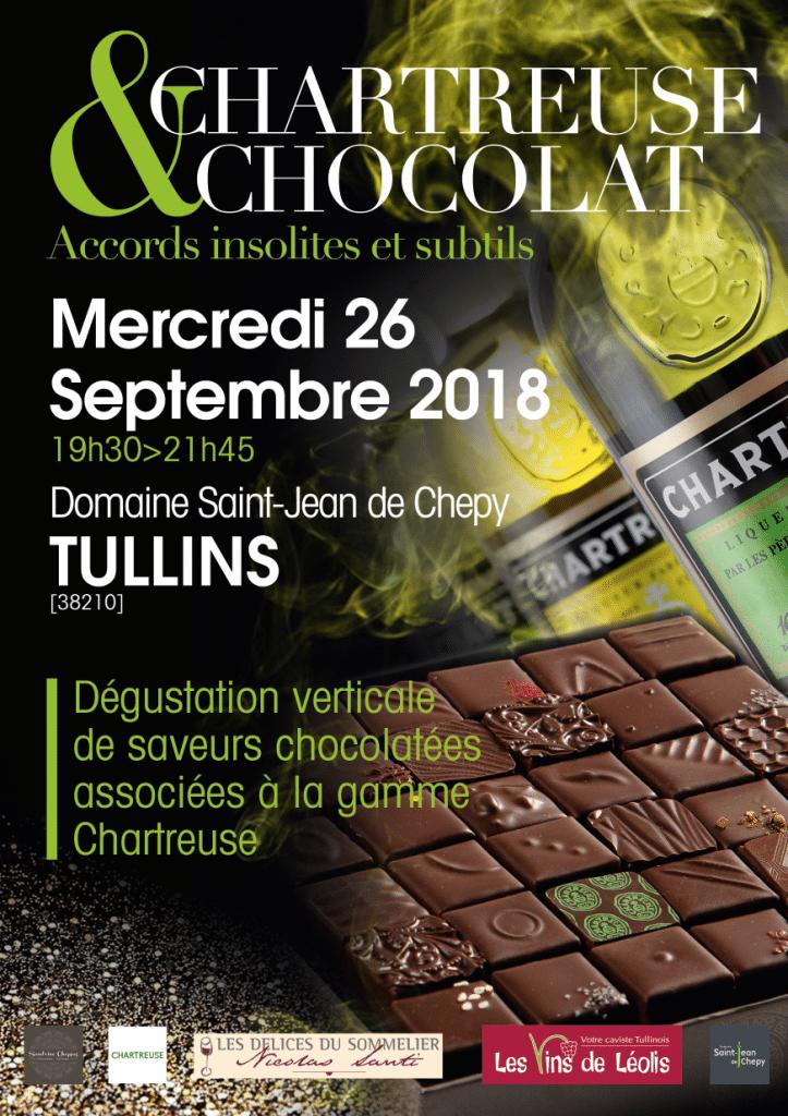 flyer soirée chartreuse chocolat recto